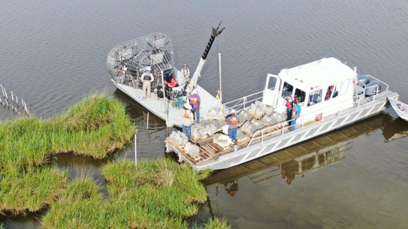 Danos Wraps Up Golden Meadow Reef Installation